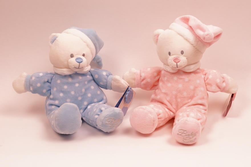 Nalle baby 16cm Keel Toys sinisenä